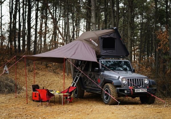Sky2X with awning