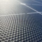 Folding solar panel close